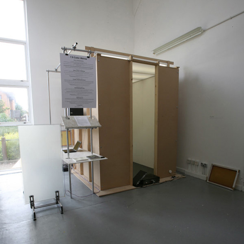 7.9 Cubic Metres structure