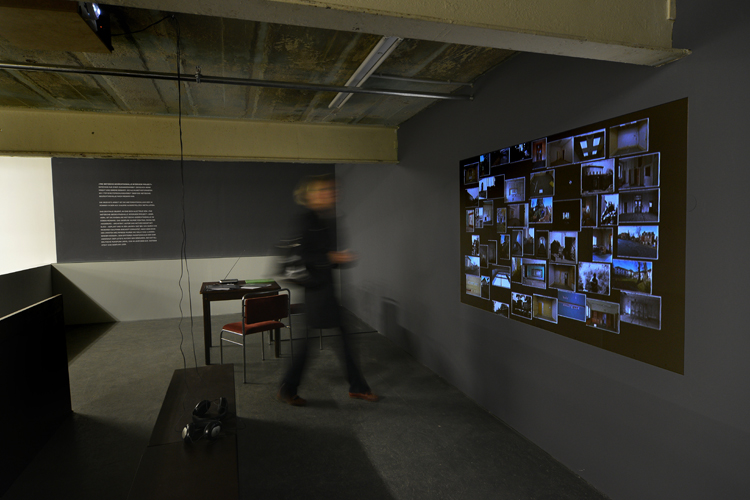 Installation Shot (right wall) Interview Project with Simone Bogner (DE / EN)