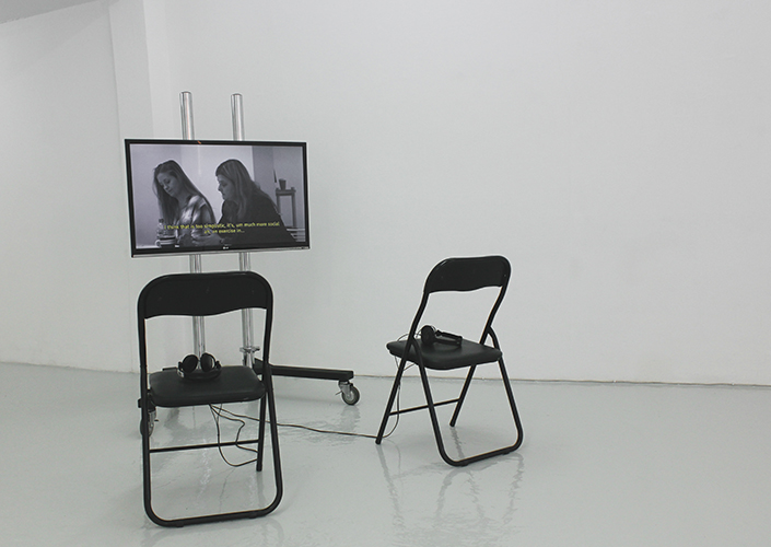 Installation View 'Tiny Lag' | ACME Project Space | 2014