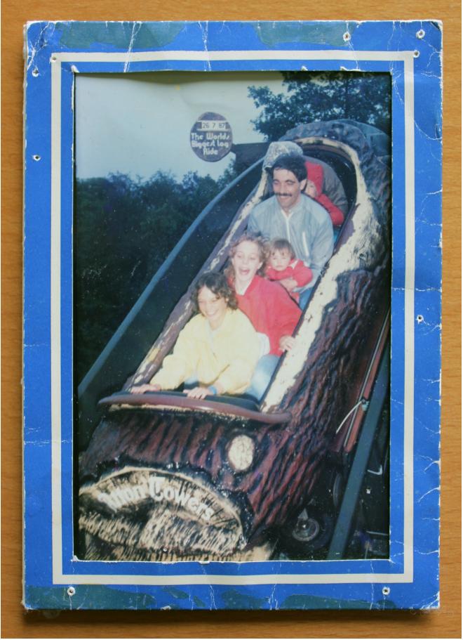 The Log Flume Rider